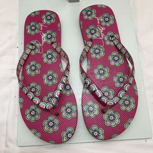 Vera Bradley Slippers, Size 9-10